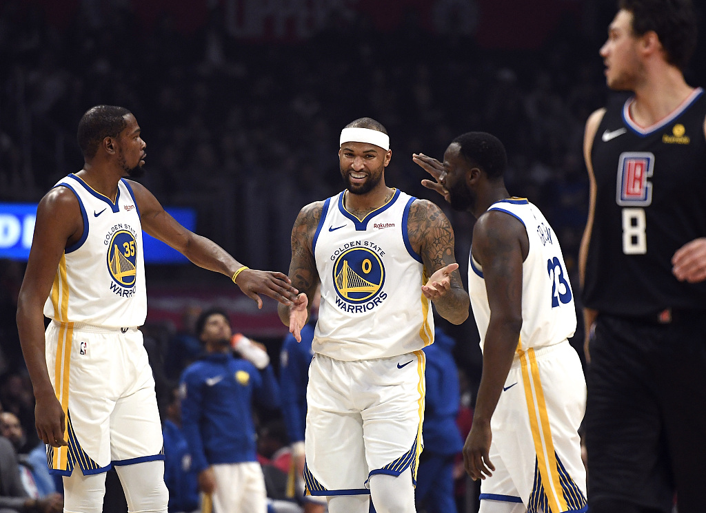 Cousins scores 14, makes hasty exit in season debut with Warriors