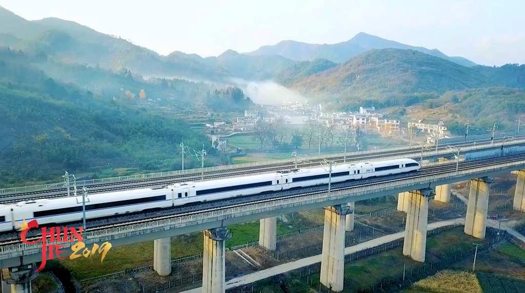 Big data on China's high-speed railway amid homecoming rush