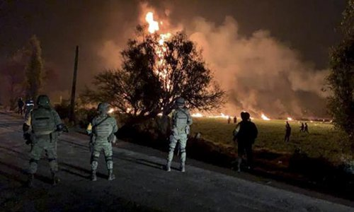 Death toll from Mexico pipeline explosion rises to 79