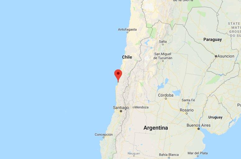 6.7-magnitude quake hits Chile's coast