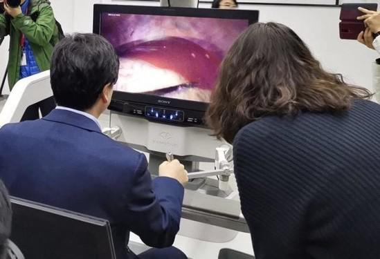 5G remote surgery performed in China