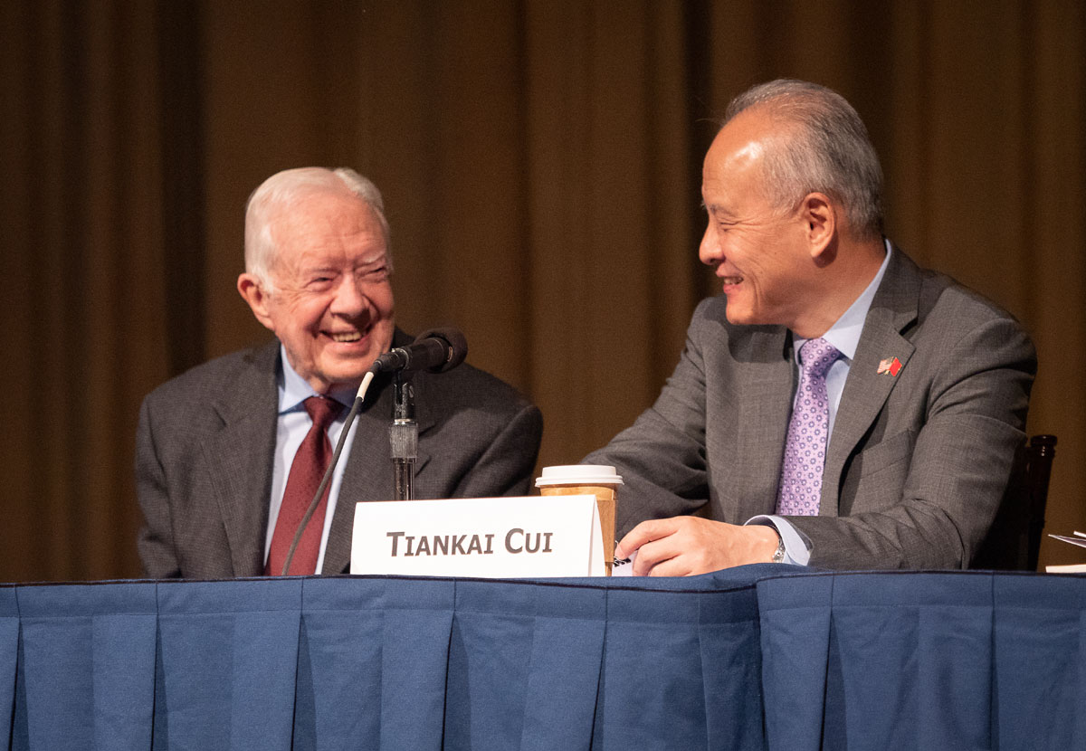 Jimmy Carter, Chinese ambassador mark 40 years of China-US diplomacy