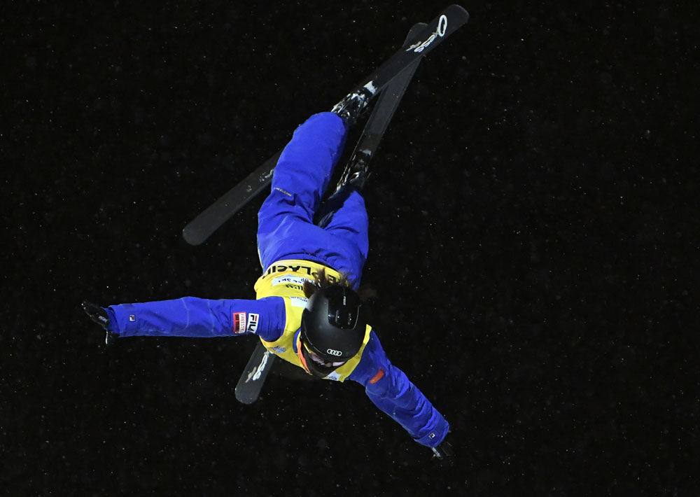 Chinese win top three at women's freestyle World Cup aerials