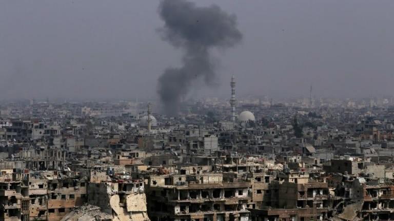 Explosion heard in Syrian capital Damascus