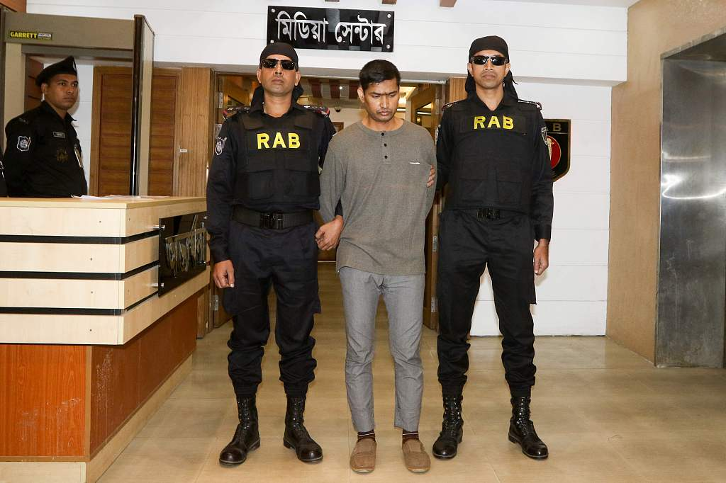 Bangladesh arrests Islamist extremist for cafe massacre