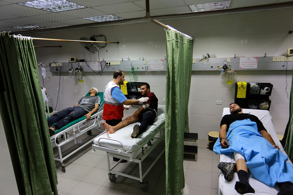 Severe fuel shortage leads to closure of 5 hospitals in Gaza: official