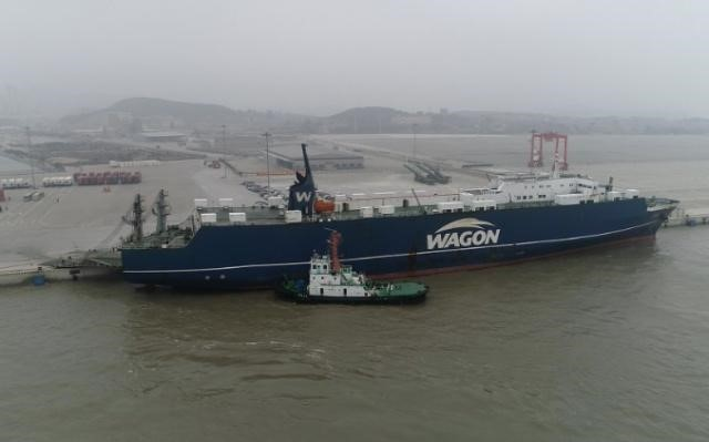 Gaoxiong-Pingtan shipping route completes trial run