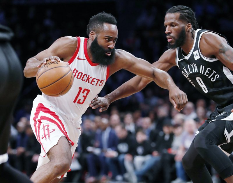 Rockets star Harden scores at least 30 points in 19 consecutive games