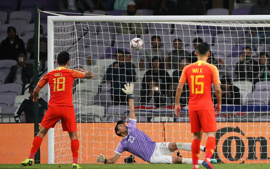China sees off Thailand to reach Asian Cup quarter final
