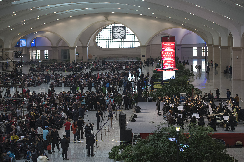 Beijing Railway Bureau to transport 34.7 mln passengers during Spring Festival travel rush