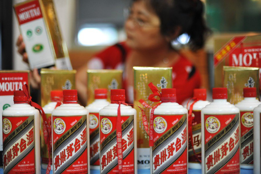 Chinese watchdog bans officials from Moutai liquor profiteering