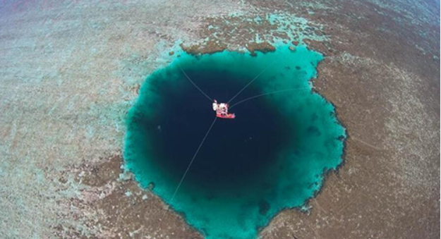 Blue hole in South China Sea officially world's deepest