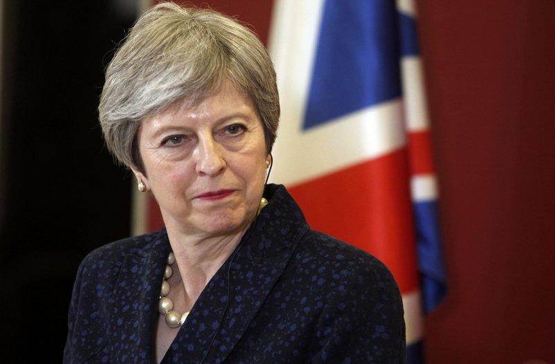 British PM refuses to back no deal Brexit or delay EU departure