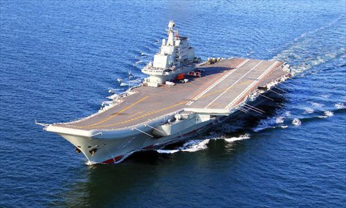 Aircraft carrier Liaoning in likely sea trial after maintenance, modification