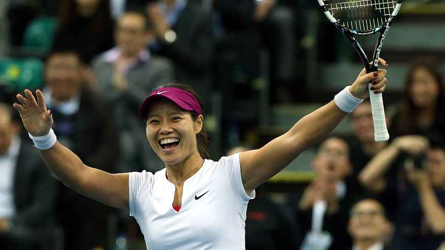 China's Li Na becomes first player from Asia to make it to Tennis Hall of Fame