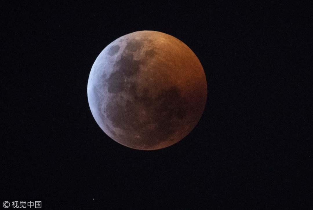 In pics: 'Super Blood Wolf Moon' treats sky gazers around the world