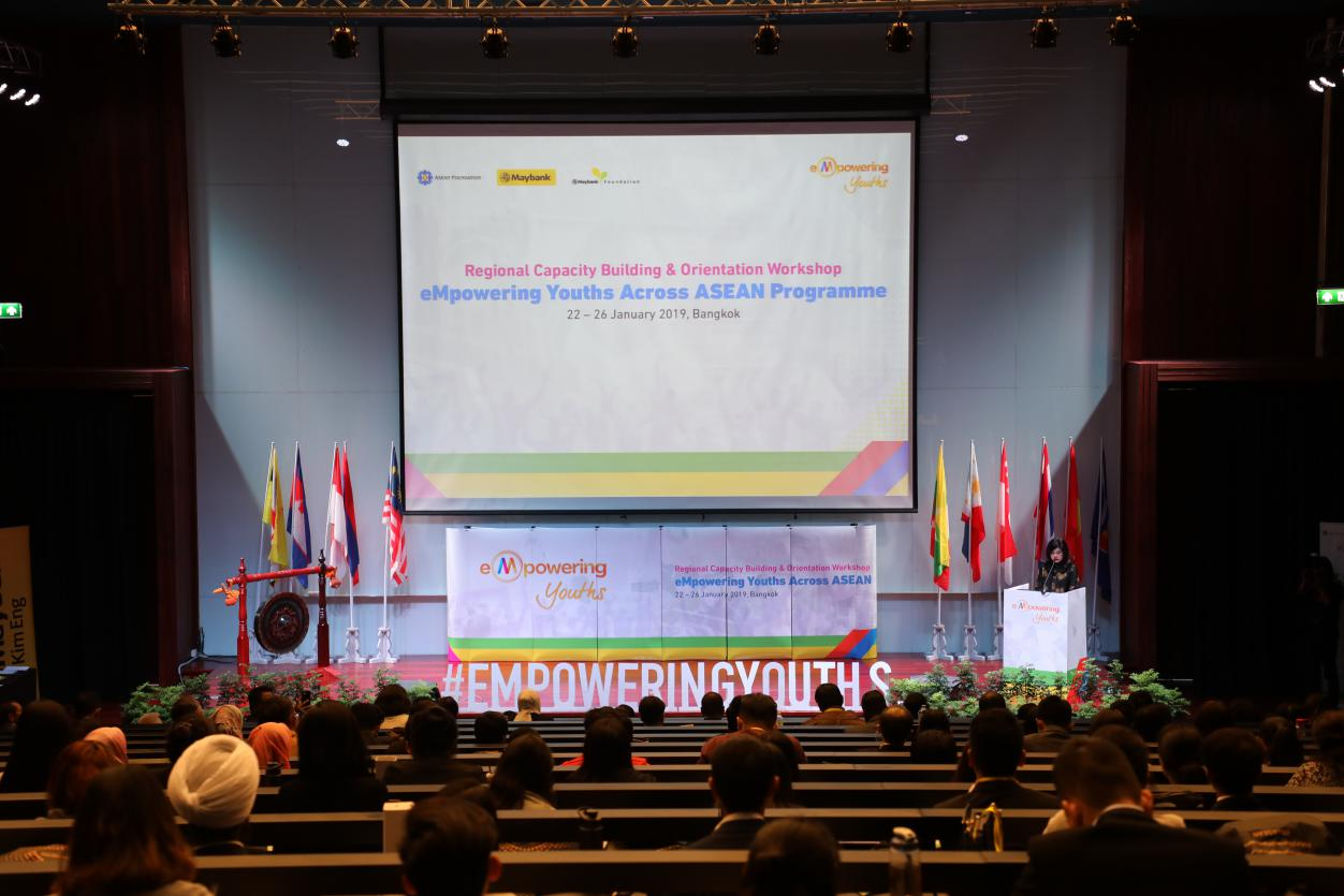 Top 100 youths gather in Bangkok as change-makers in ASEAN region