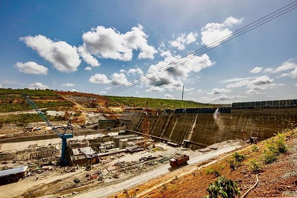 Construction of China-funded mega dam on course