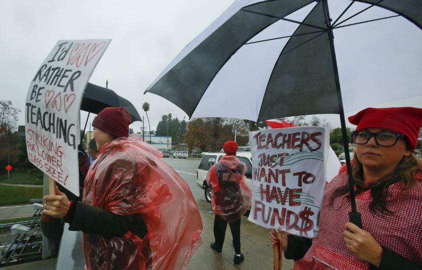 LA teachers strike shows failure of America's public school system