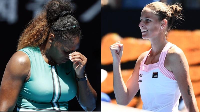 Serena dumped as Pliskova reaches Open semis
