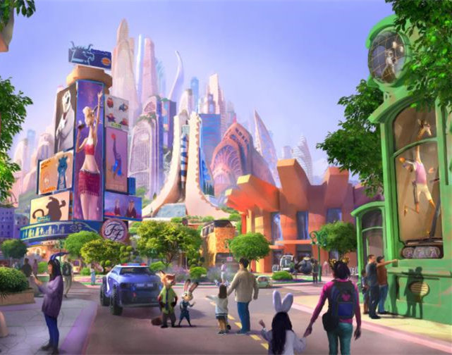Shanghai Disney to open 'Zootopia' land