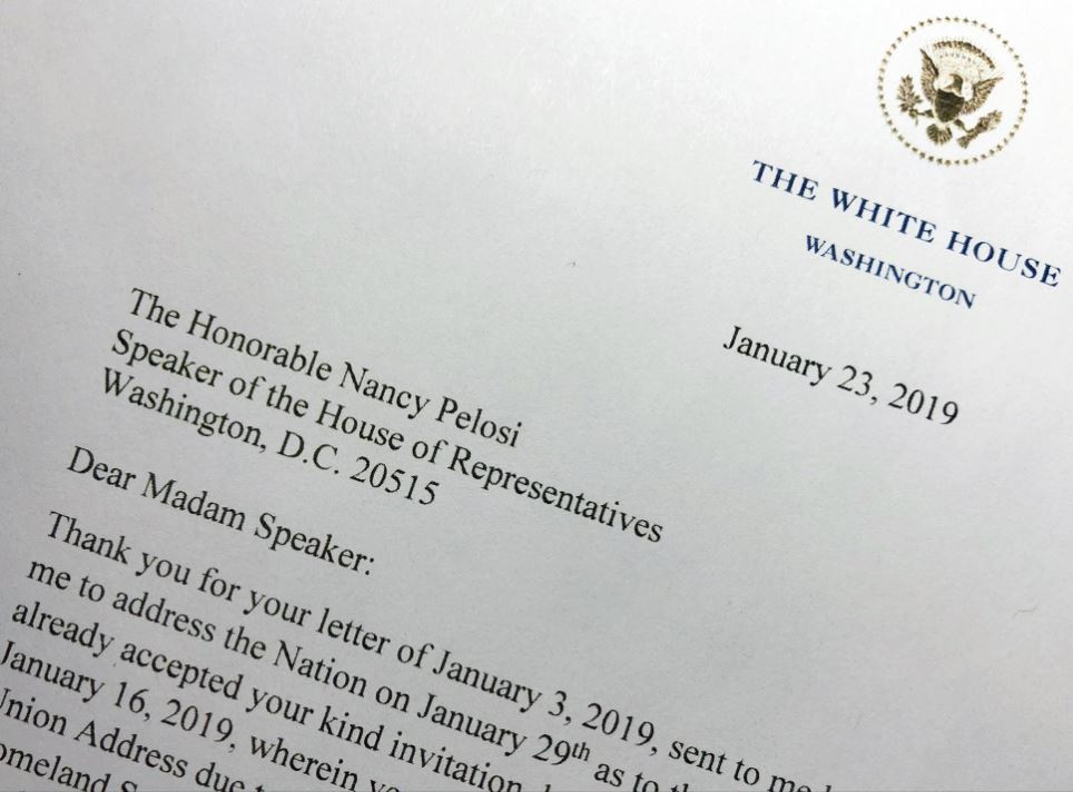 Trump intends to deliver State of Union next week as planned