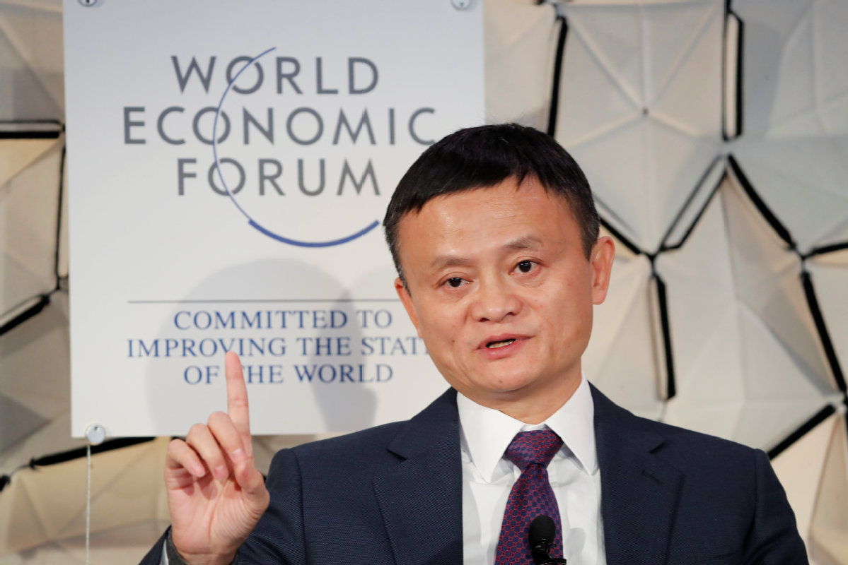 Jack Ma wants to bring e-commerce to everyone in the developing world