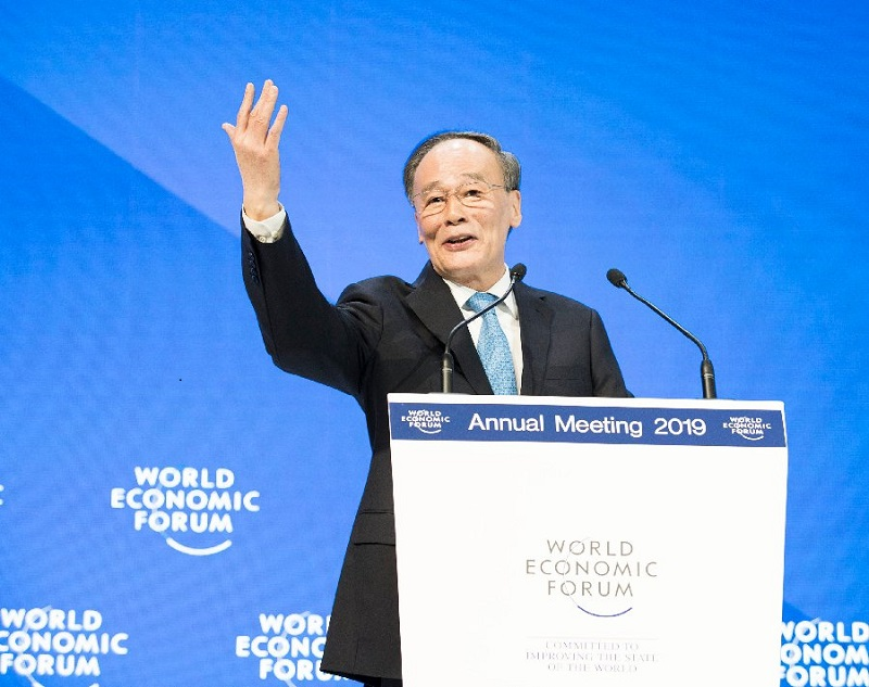 Chinese vision of global governance gaining further support at Davos