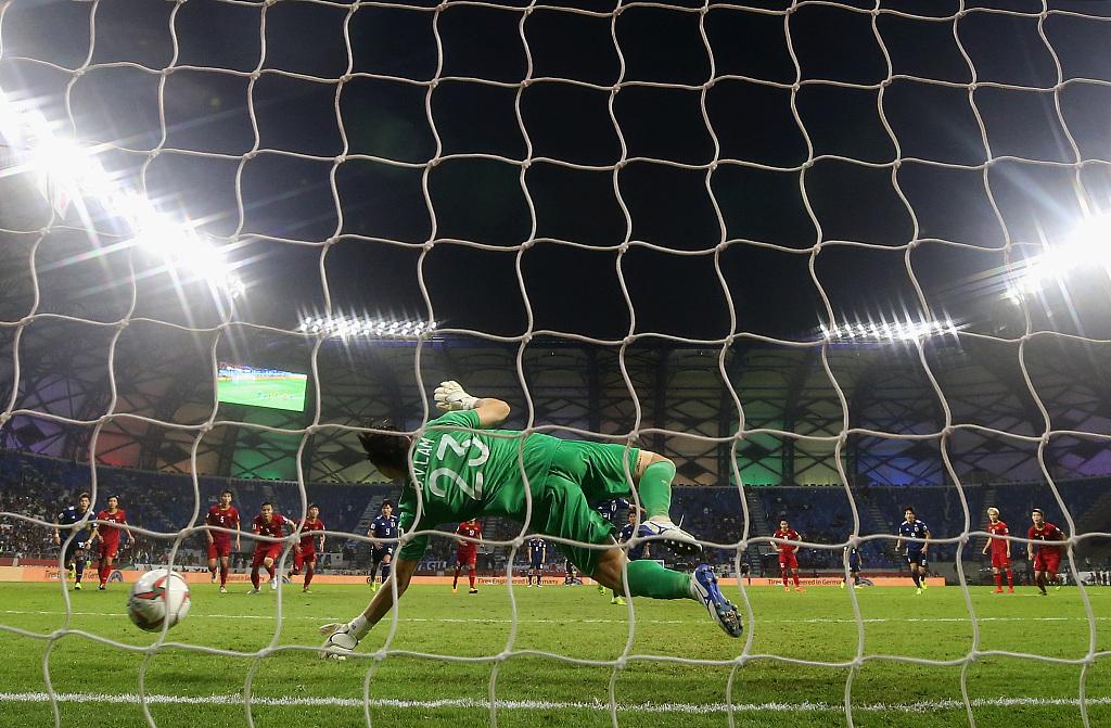 Japan's historic VAR penalty sinks Vietnam at Asian Cup