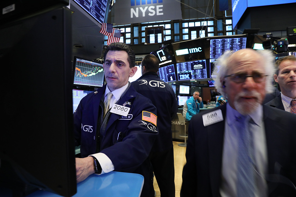 US stocks open mixed amid upbeat corporate earnings, concerns over global trade