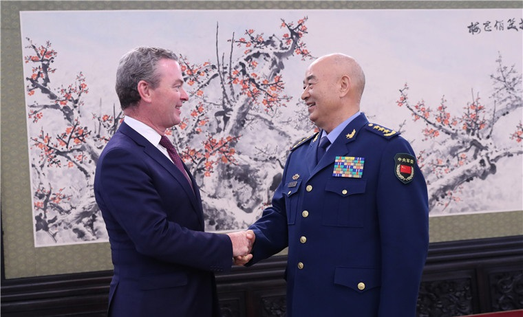 CMC Vice Chairman meets with Australian Defense Minister