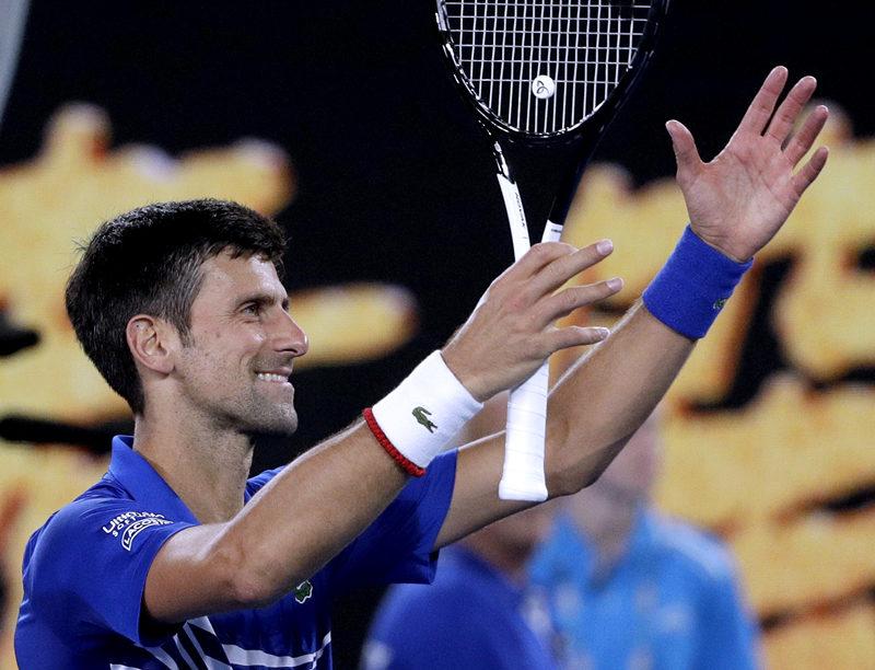 Djokovic to meet Nadal in Australian Open final after demolishing Pouille in straight sets