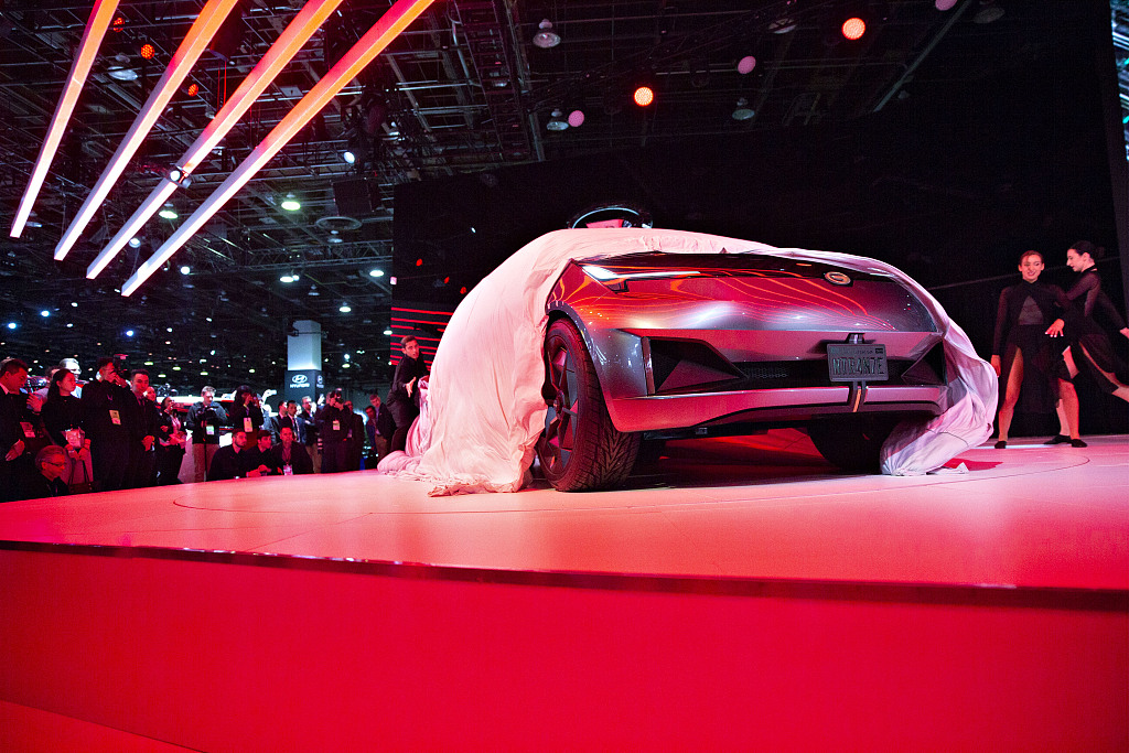Chinese, US automakers seek trade opportunities at Detroit Auto Show