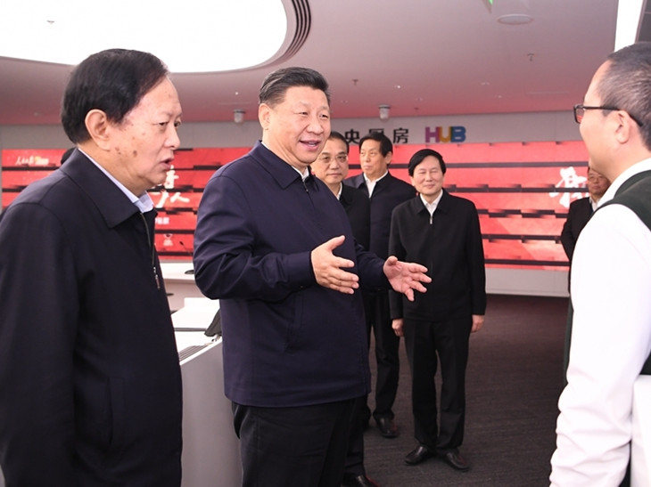 Xi stresses integrated media development