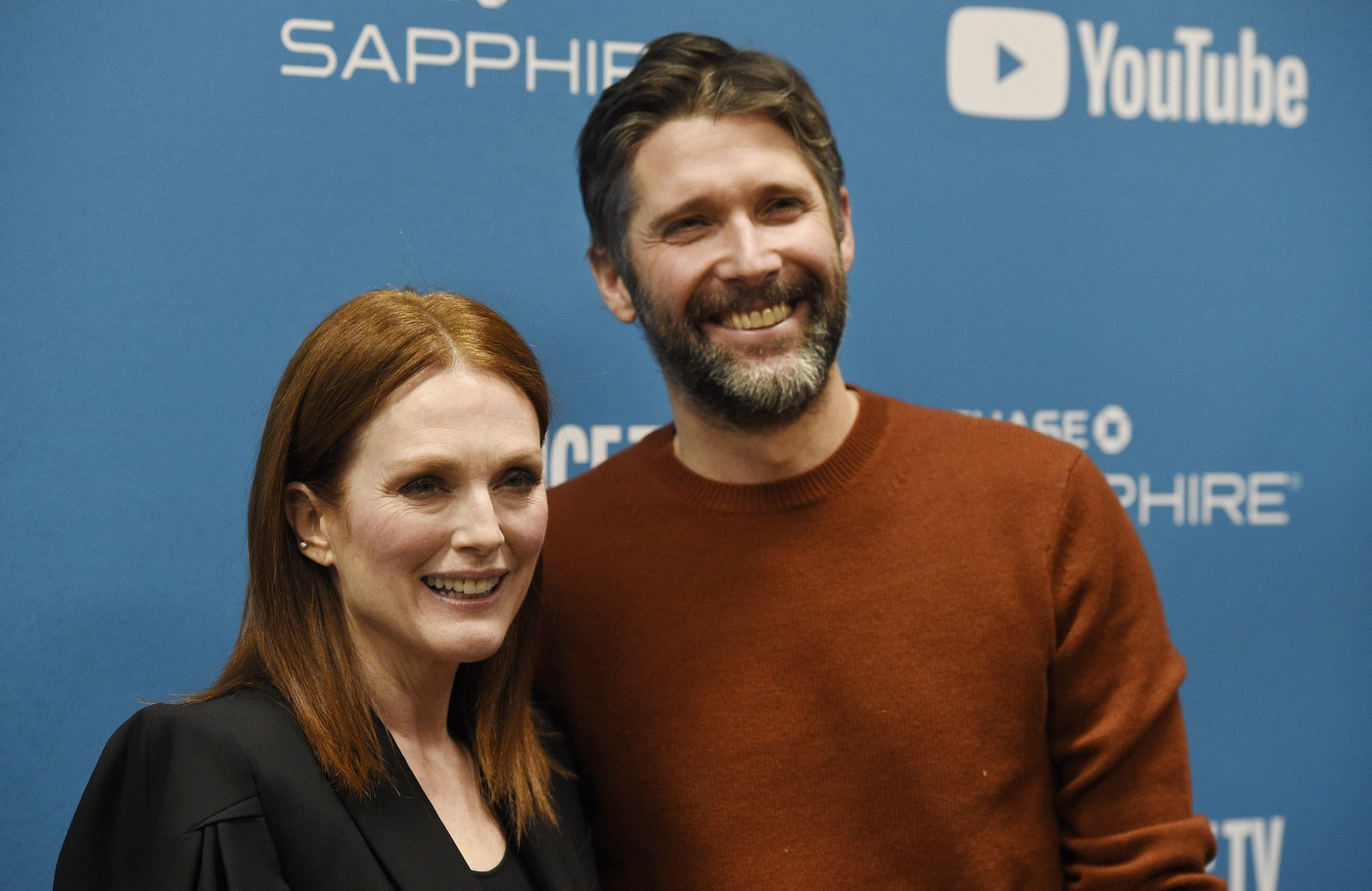 Sundance is homecoming for Julianne Moore and husband