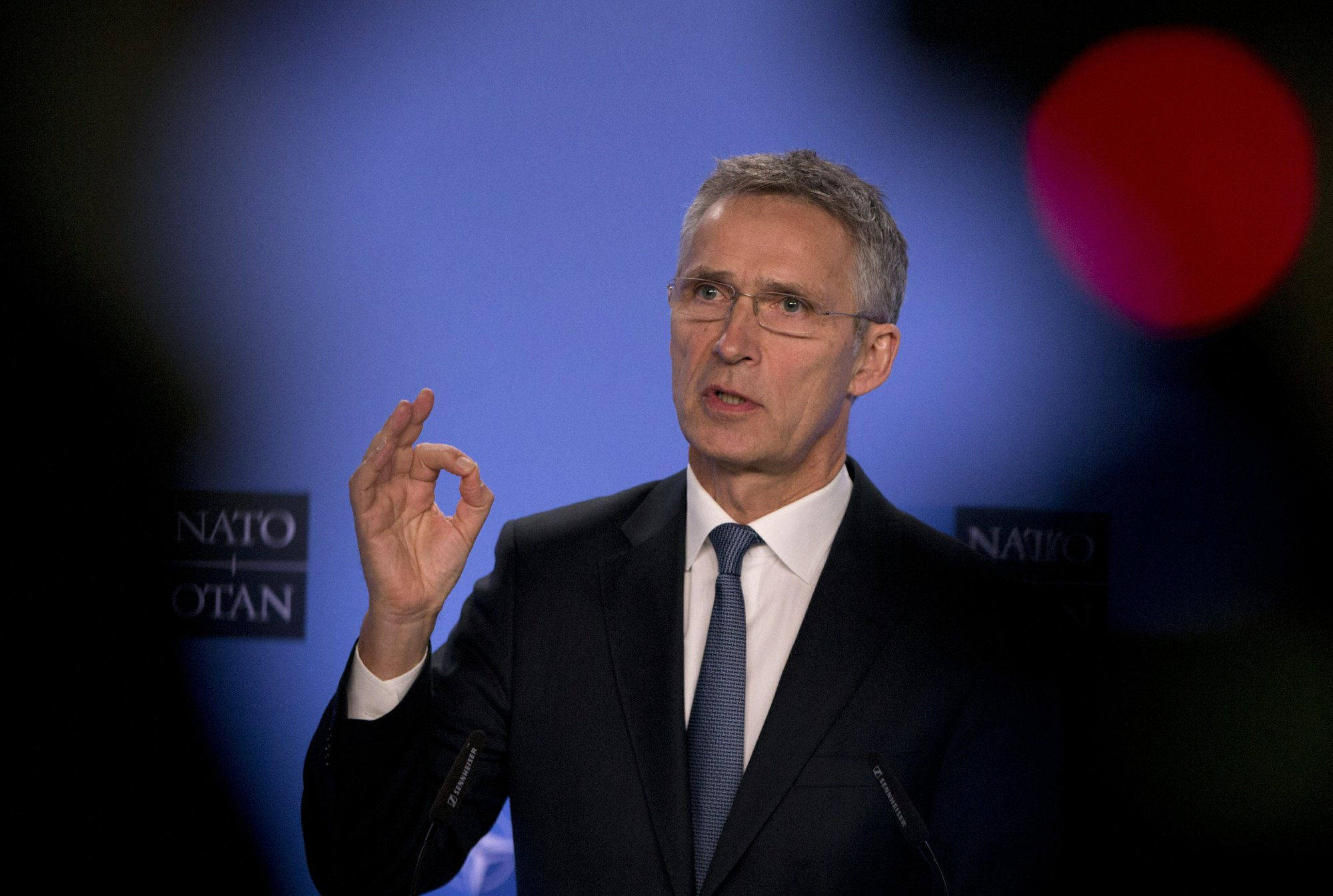 NATO chief says missile pact in danger after Russia talks