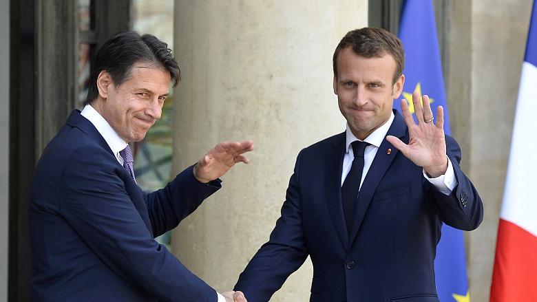 France-Italy spat highlights disunity ahead of EU polls