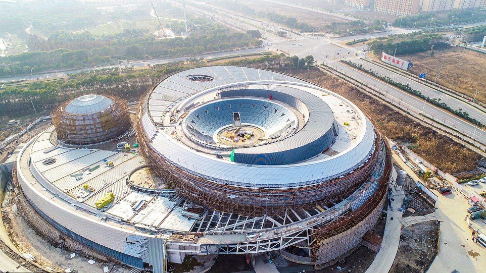 World's largest planetarium takes shape