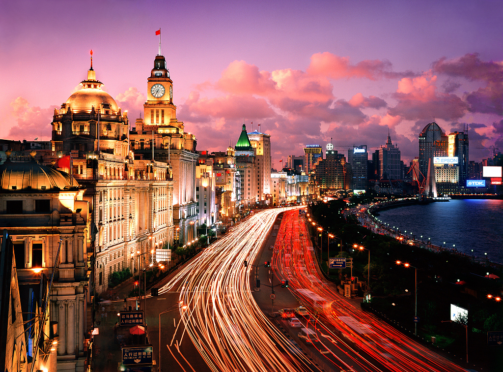 Shanghai has maintained a sustainable and high-quality economic growth