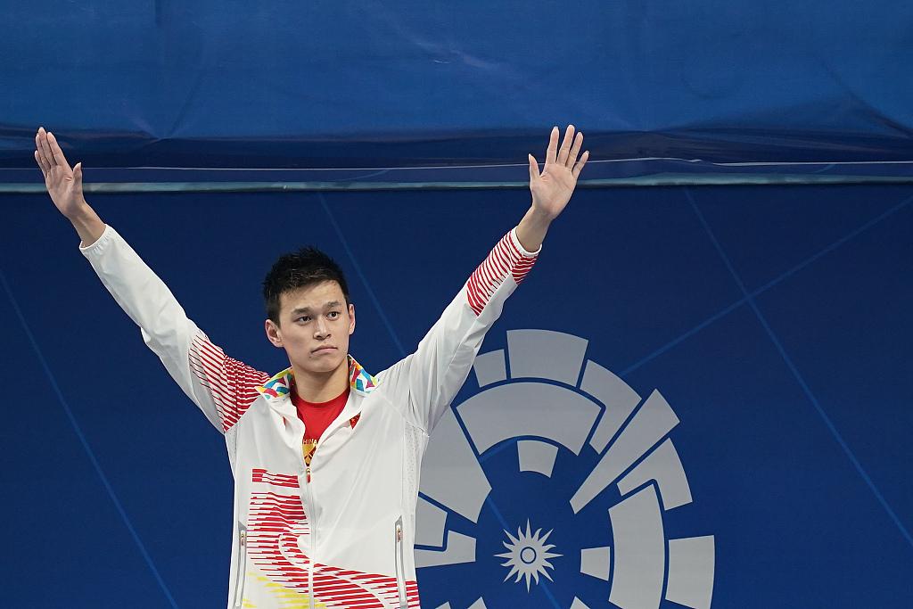 FINA affirms Sun Yang hasn't violated anti-doping rules: Chinese Swimming Association