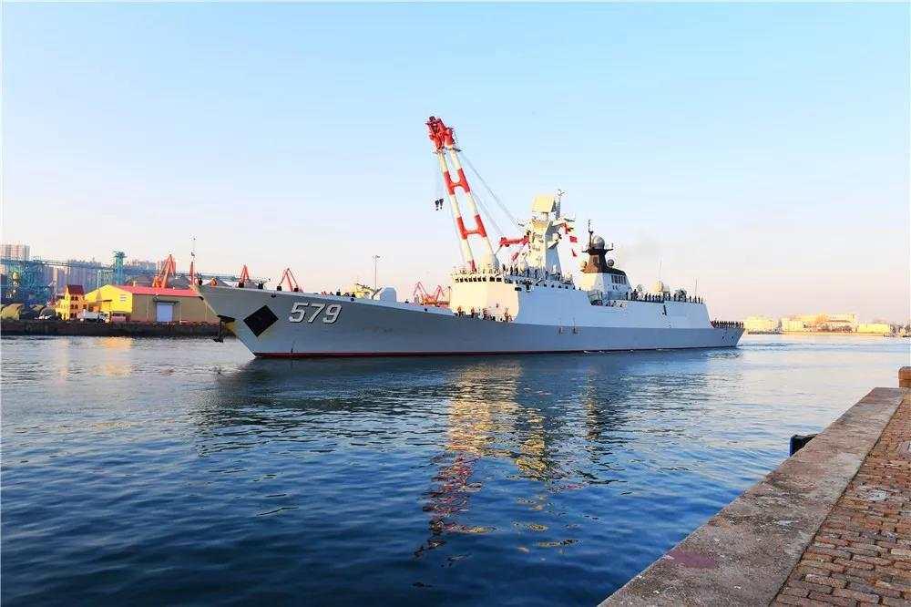 Chinese fleet returns from escort mission