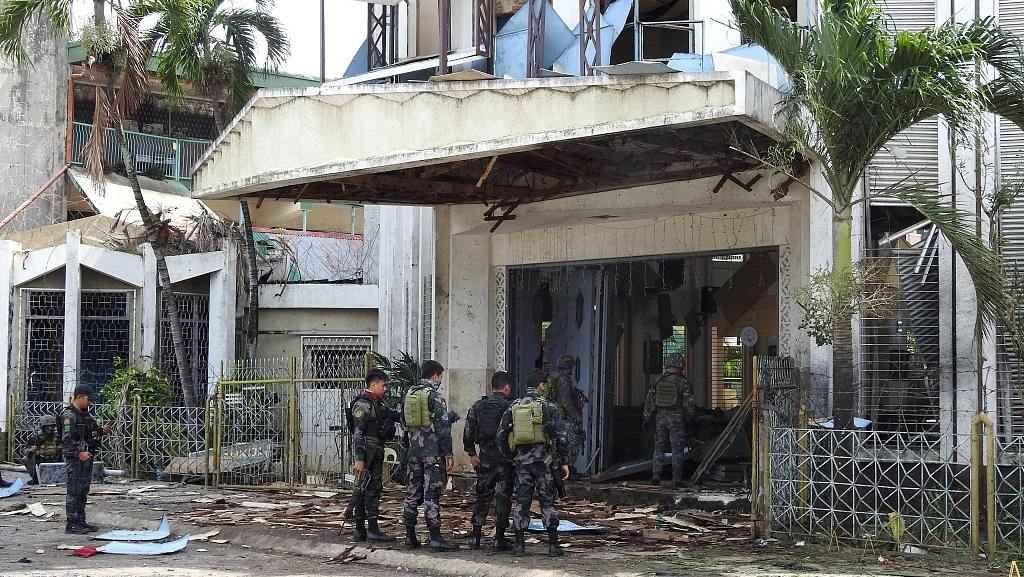 20 killed, 111 injured in Philippines church bombing