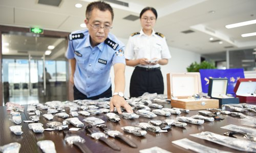Chinese customs authorities hailed for continued crackdown on smuggling of waste, ivory products