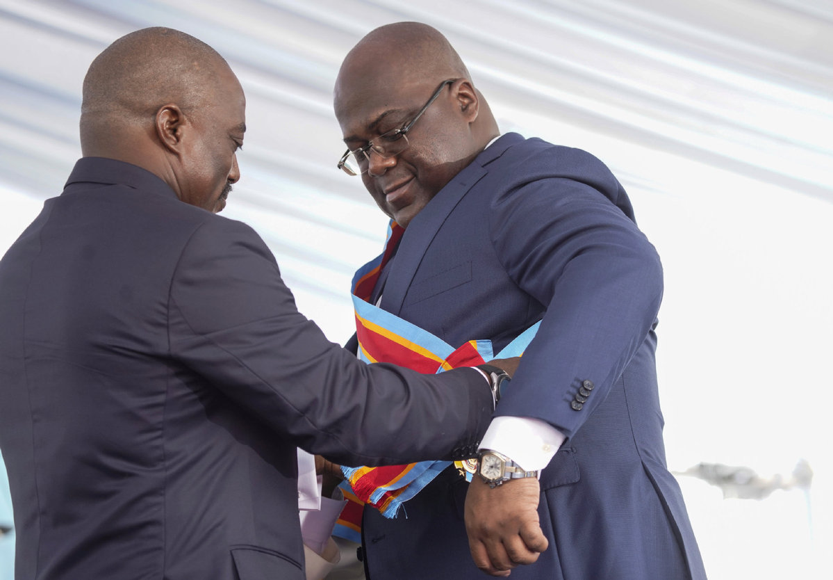DRC vows to build a new country