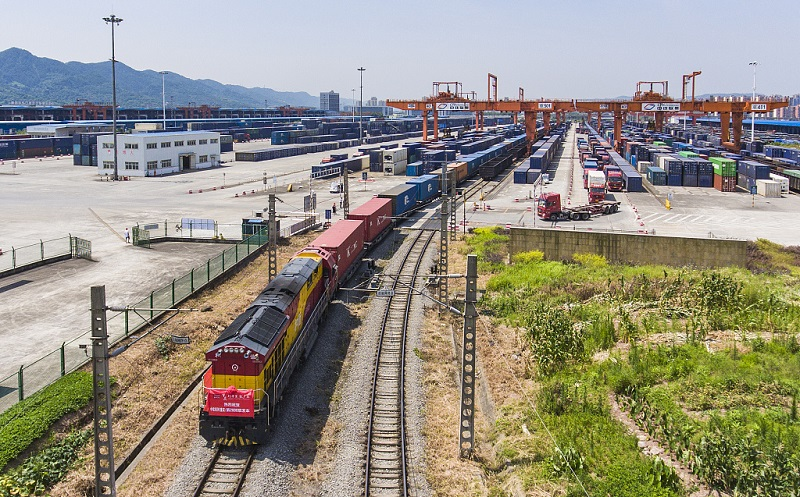 Chinese metropolis Chongqing sees booming rail trade with Europe