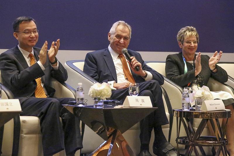 Zeman hopes B&R initiative will help boost Czech development