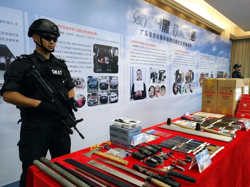 Police smash nearly 6,900 mafia-style groups in major campaign