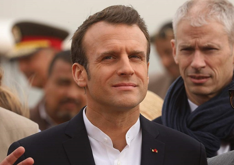 Macron tells Egypt's Sisi stability and freedoms go hand in hand