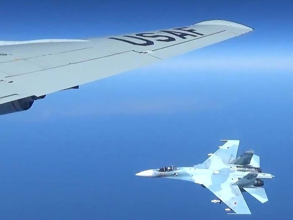 Russian fighter intercepts US plane over Baltic Sea