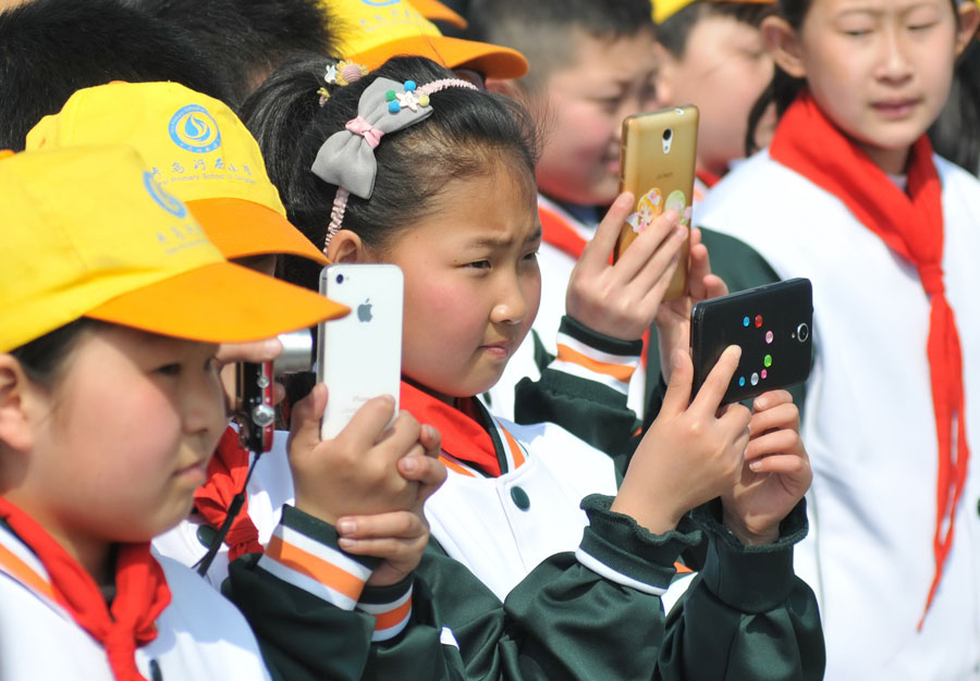 Mobile phones and tablets banned from Anhui classrooms